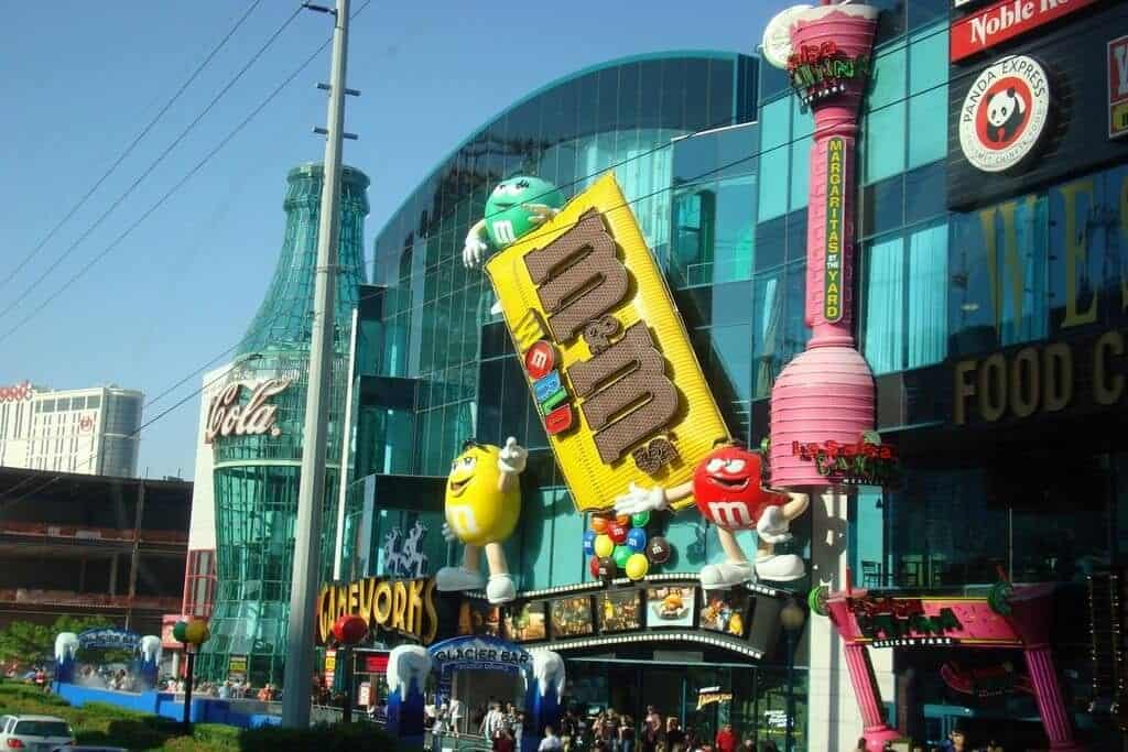 M&M's World - Las Vegas Free Things to do