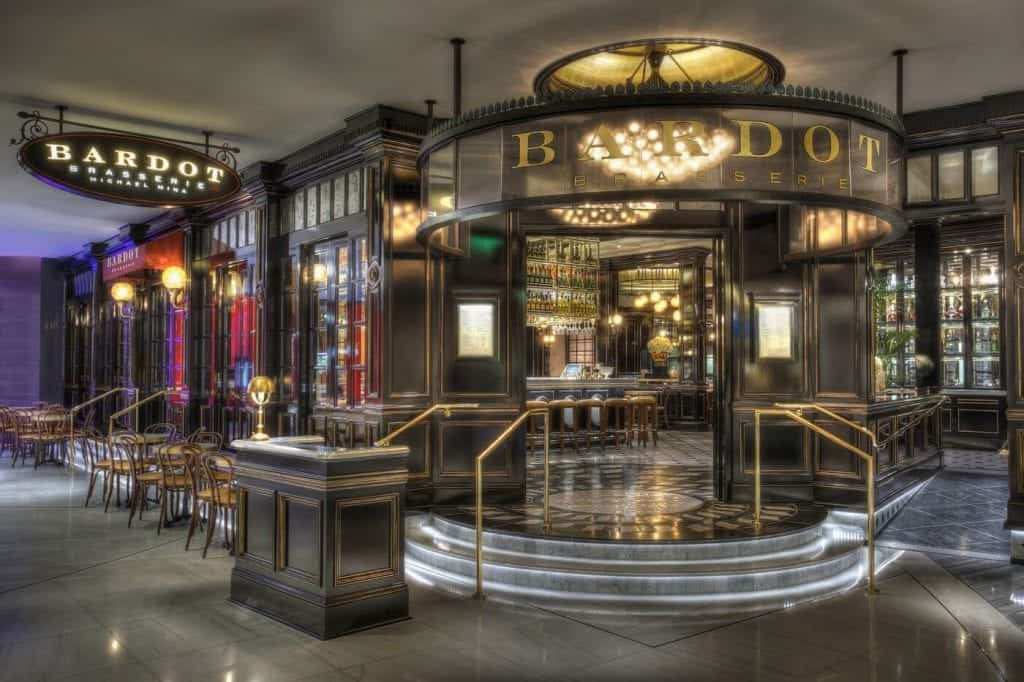 Michael Mina's Parisian-style bistro, Bardot - Restaurants in Las Vegas for Bachelorette Party