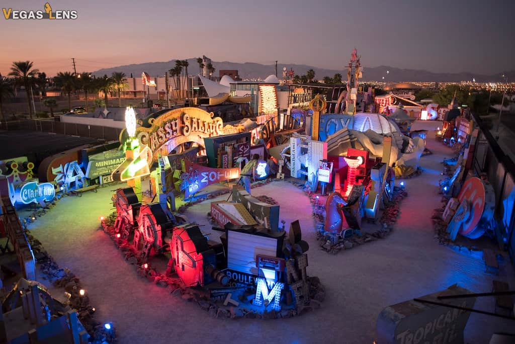 Neon Museum - Romantic things to do in Las Vegas