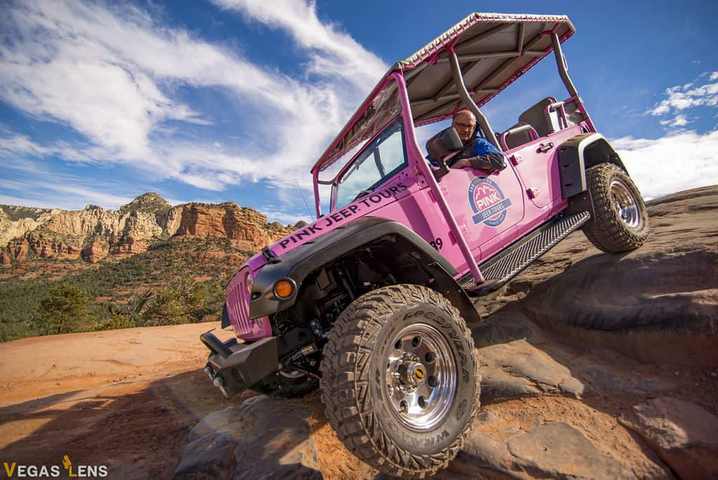 Pink Jeep Day Tour - Things to do in Las Vegas for Couples