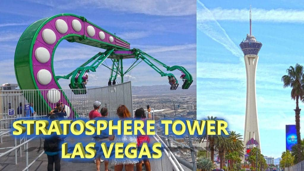 Stratosphere Tower - Must do in Vegas for First Timers