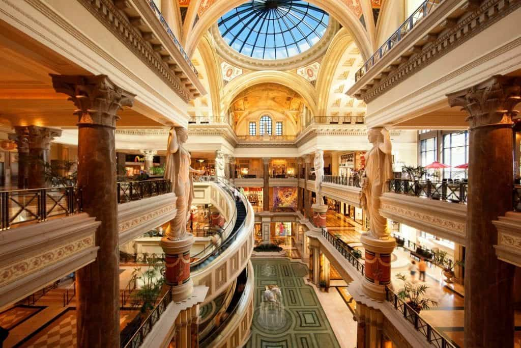 The Forum Shops at Caesars Palace - Must do in Vegas for First Timers