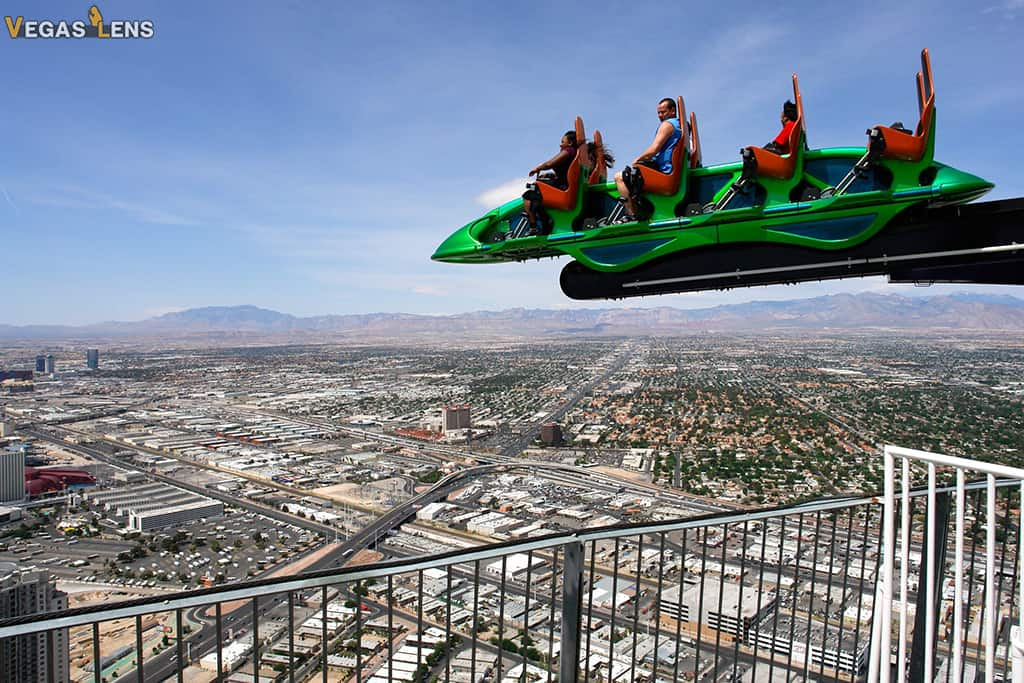 Tinggly Stratosphere Adventure Rides - Romantic things to do in Vegas