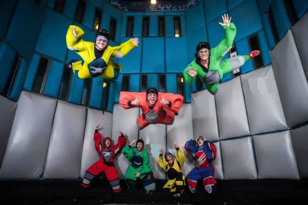 Las Vegas Indoor Skydiving - Things to do on Vegas Strip