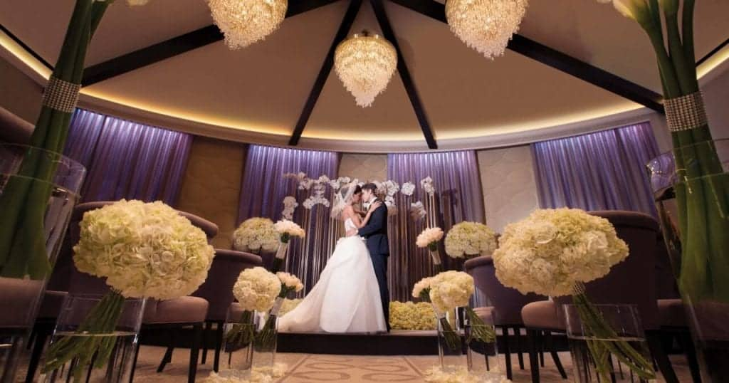 The Wedding Chapel at Aria - Getting Married in Las Vegas