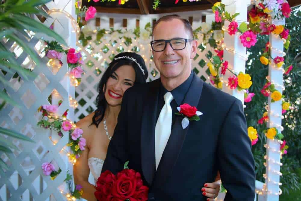 Vow Renewal at The Chapel of the Flowers - Weddings in Vegas