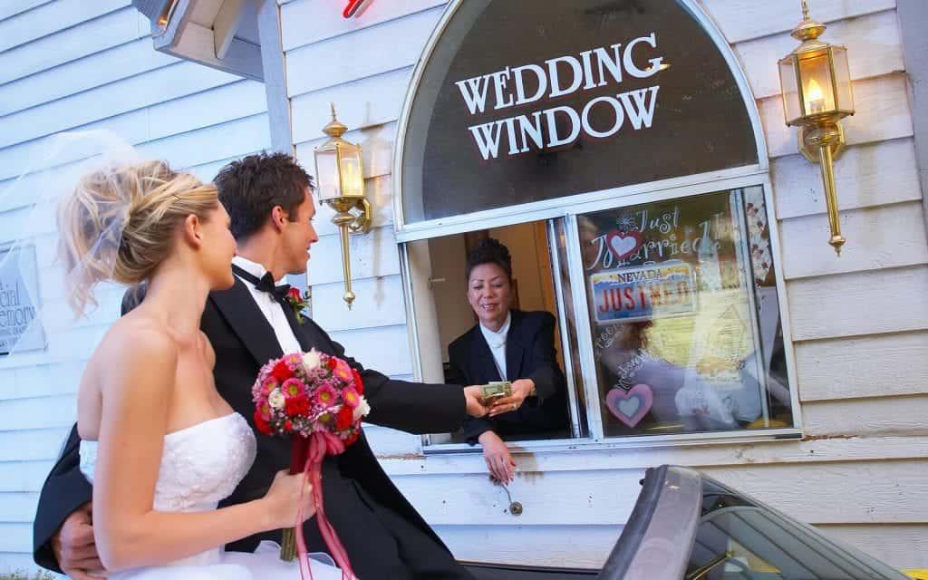 World Famous Drive-up Wedding in Las Vegas - Las Vegas Wedding Chapels