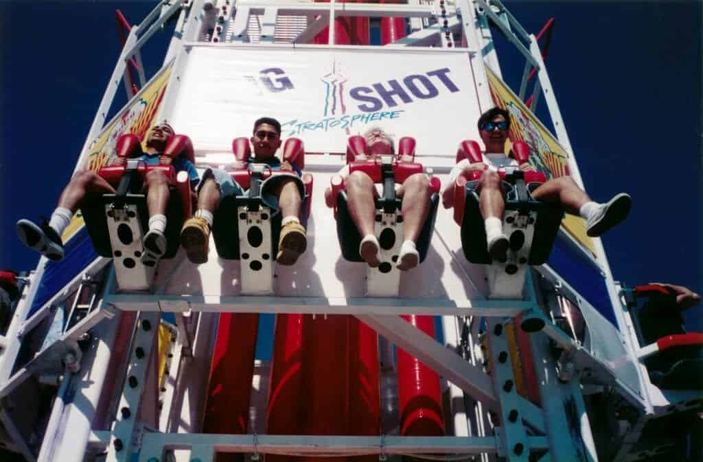 Big Shot at Stratosphere Tower - Fun Things to do in Las Vegas with Kids