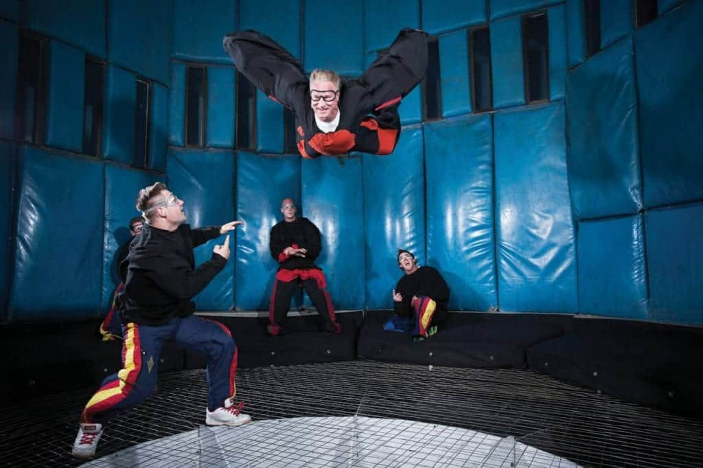 Las Vegas Indoor Skydiving - Family Activities in Las Vegas