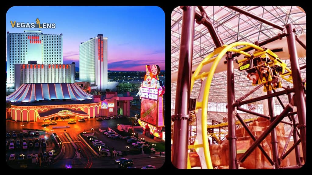 Circus Circus Hotel - Best hotels in Vegas for bachelorette party