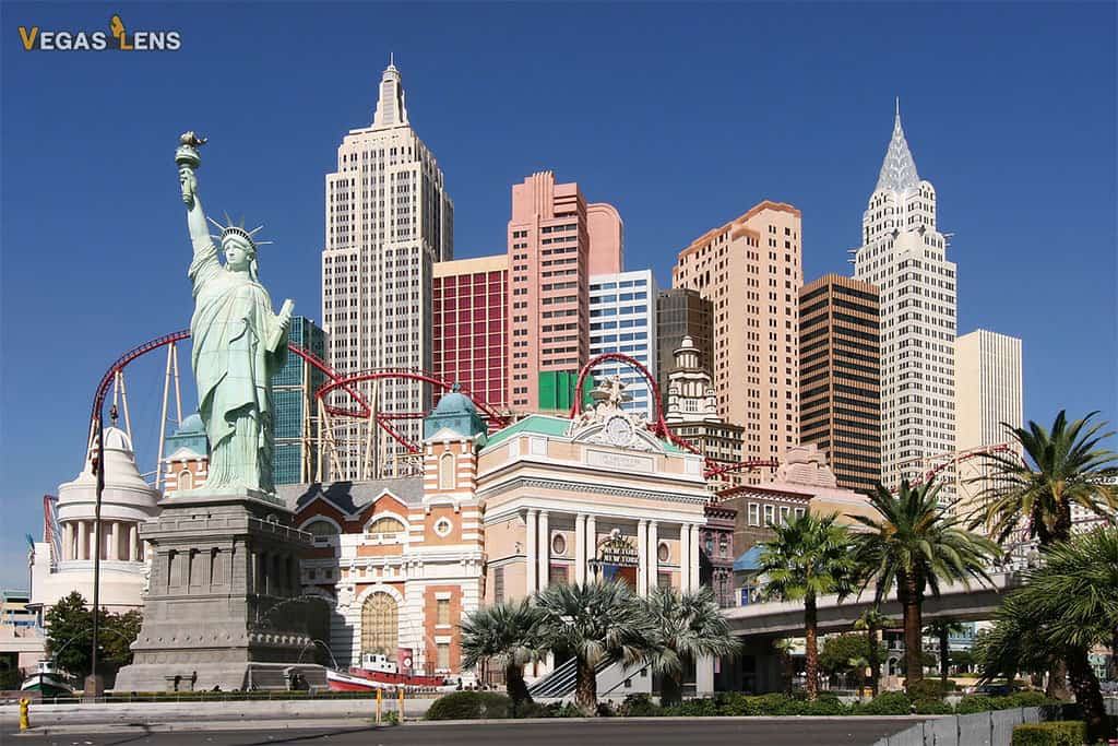 New York New York Hotel - Family friendly hotels in Las Vegas