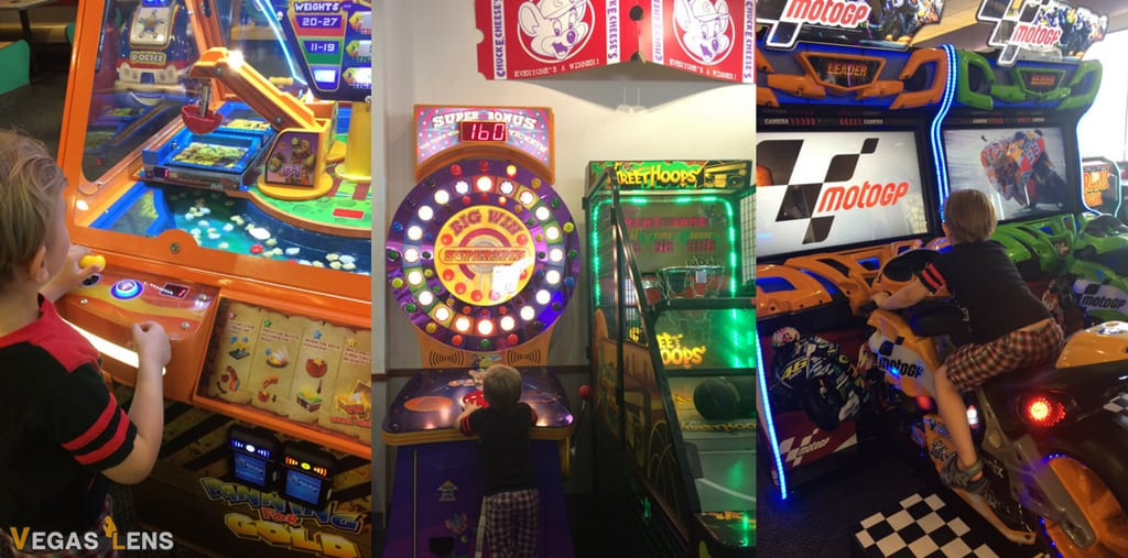 Chuck E. Cheese's - Kids birthday party places in Las Vegas