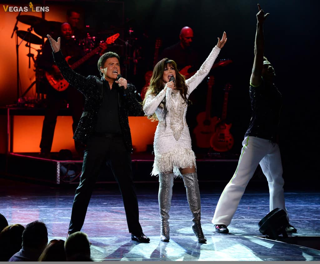 Donny and Marie Osmond - Las Vegas shows for kids