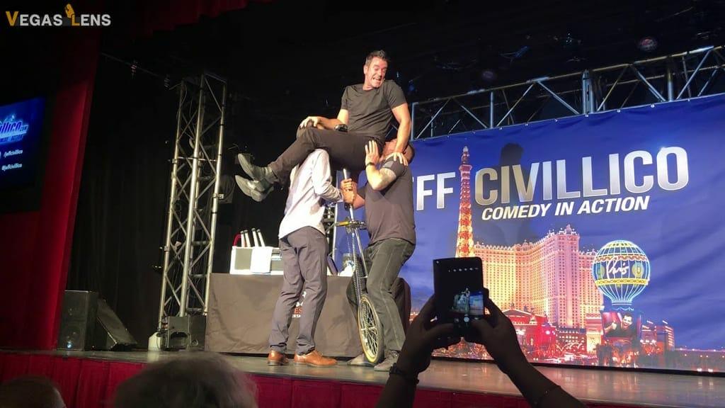 Jeff Civillico: Comedy in action - Las Vegas family shows