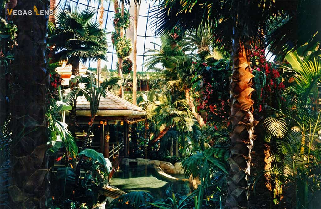 Mirage Hotel Atrium - Free things to do in Vegas with kids