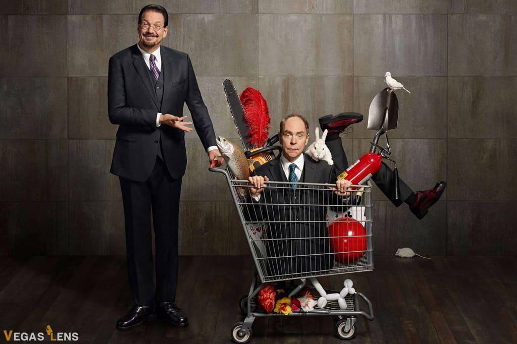 Penn & Teller - Las Vegas shows for kids