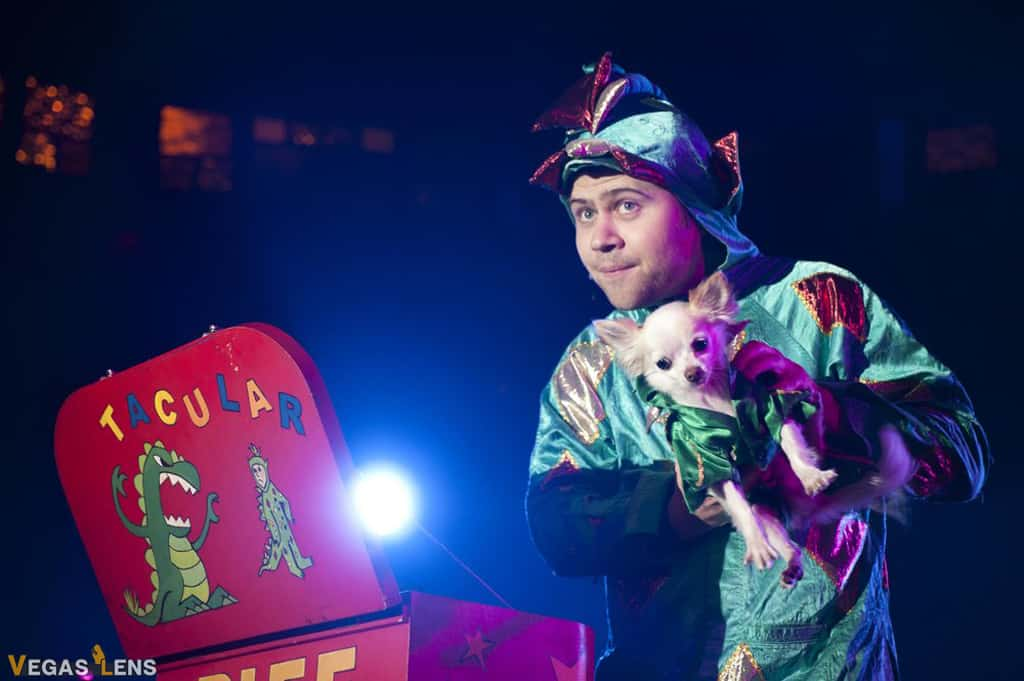 Piff the Magic Dragon - Las Vegas shows for kids