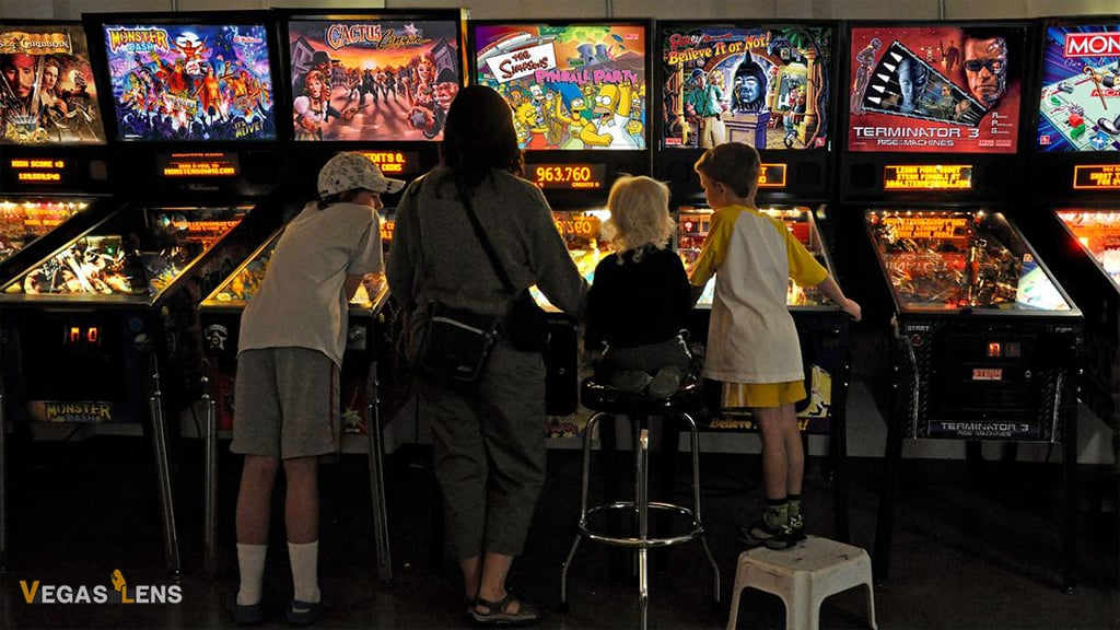 Pinball Hall of Fame - Free things to do in Vegas with kids