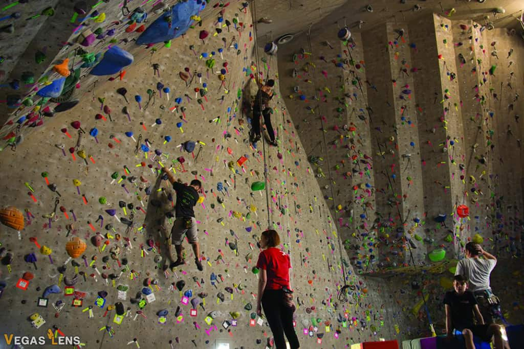 Red Rock Climbing Center - Kids birthday party places in Las Vegas