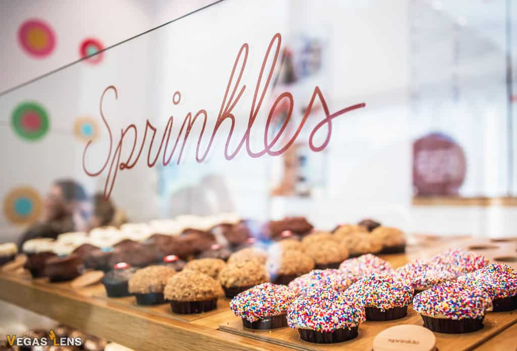 Sprinkles Cupcakes - Family friendly restaurants in Las Vegas