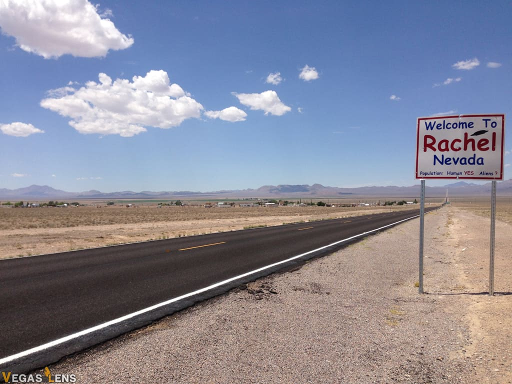 Rachel, Nevada (Area 51) - Day trip from Las Vegas