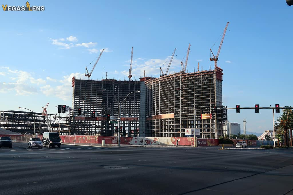 Resorts World in Las Vegas is well underway.