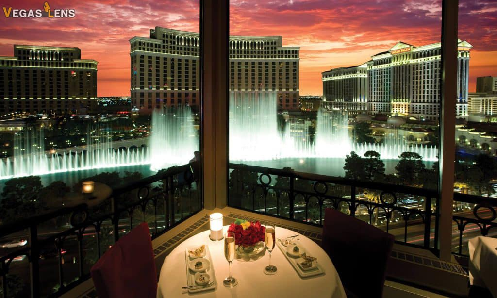 The Eiffel Tower Restaurant - Romantic Restaurants In Vegas