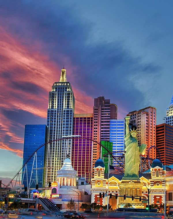 The Las Vegas skyline is constantly changing