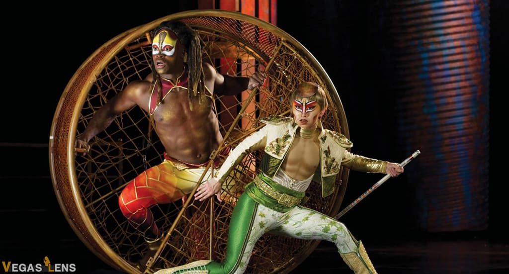 Kà - Best Cirque du Soleil show in Vegas