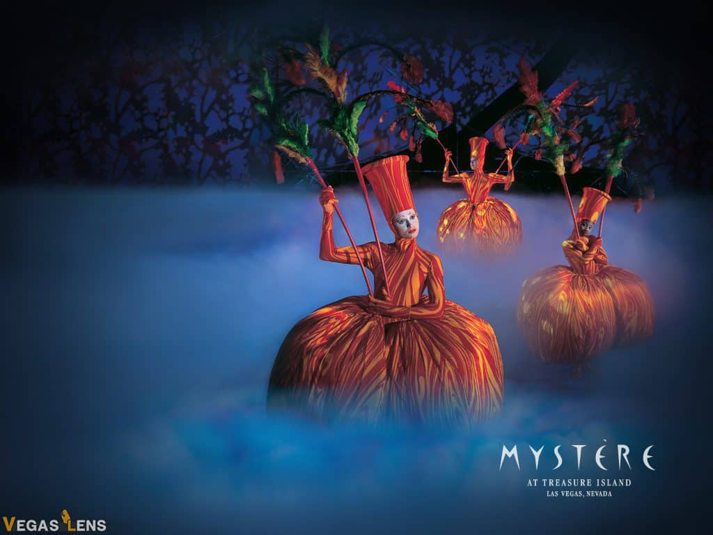 Mystère - Cirque du Soleil shows in Las Vegas