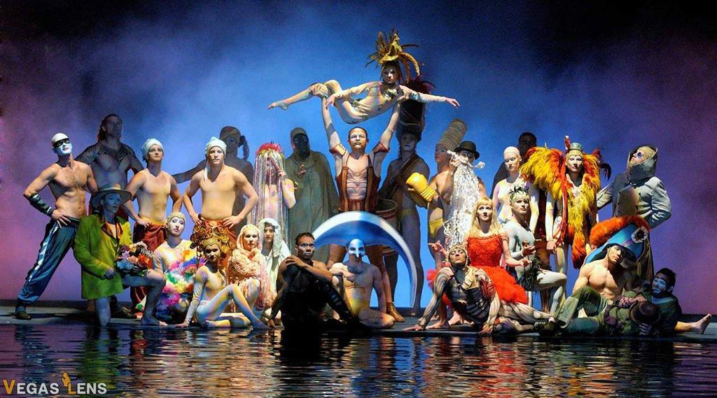 O - Cirque du Soleil shows in Vegas