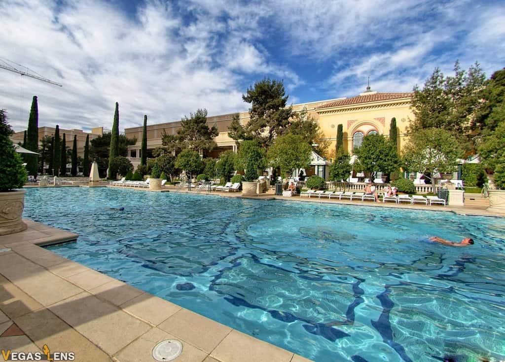 Bellagio Pool - Best hotel pools in Vegas
