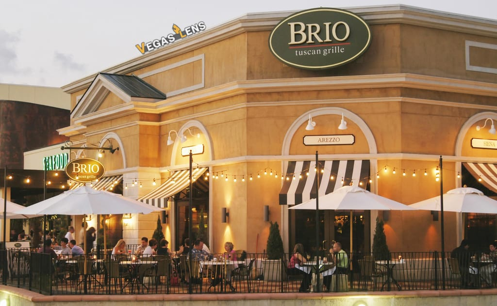 Brio Tuscan Grille - Las Vegas dog friendly restaurants