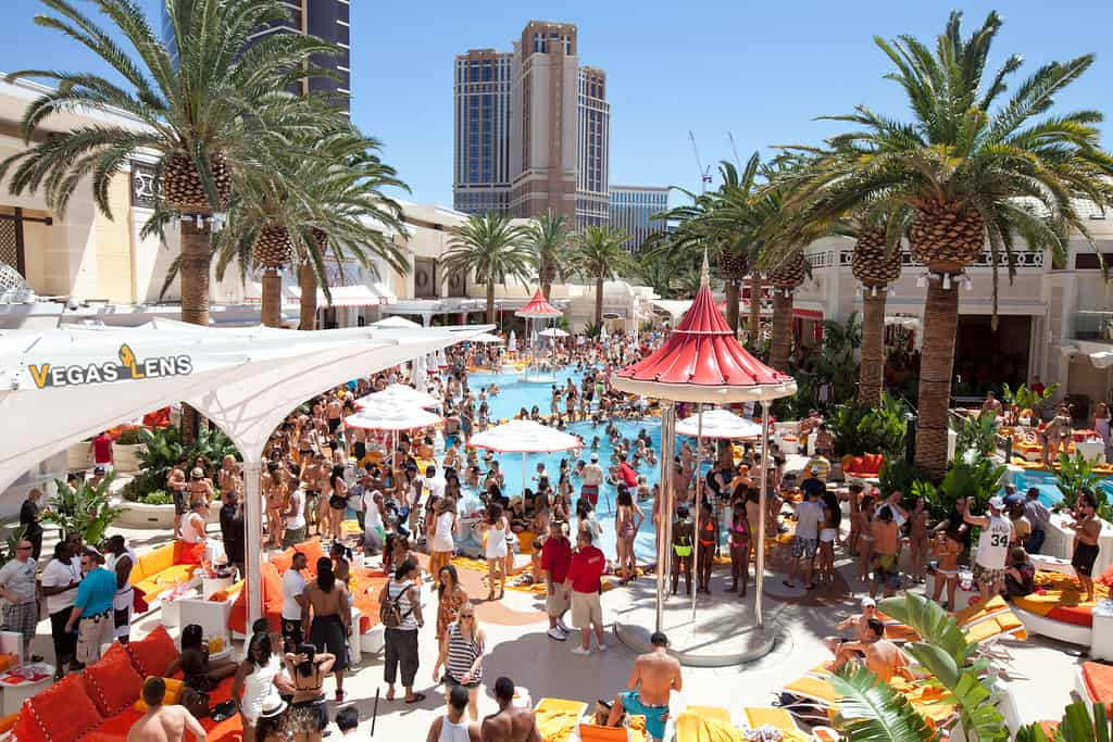Encore Beach Club - Vegas pools