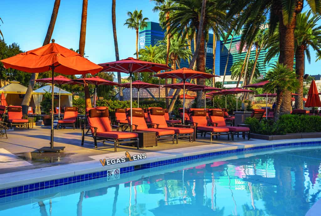 Grand Pool Complex - Best hotel pools in Las Vegas