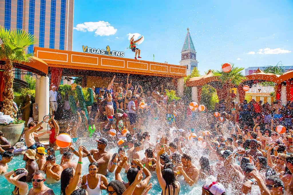 TAO Beach - Best pools in Las Vegas