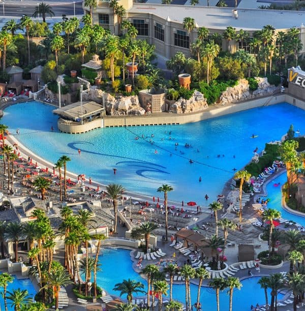 The Mandalay Bay Beach - Best pools in Las Vegas