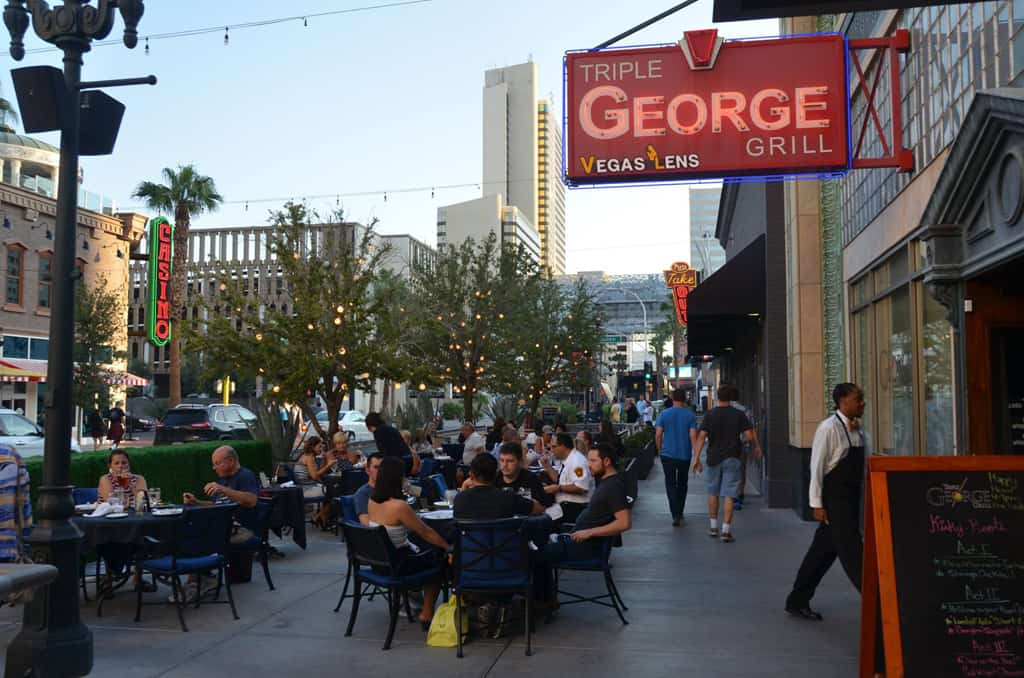 Triple George Grill - Pet friendly restaurants in Las Vegas