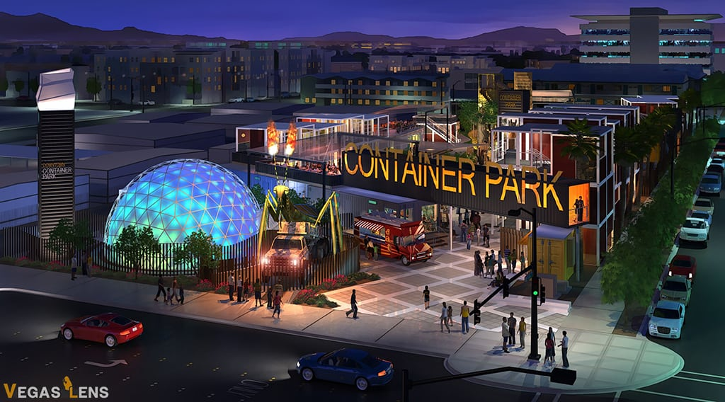 Downtown Container Park - Things to do in Vegas with Toddlers
