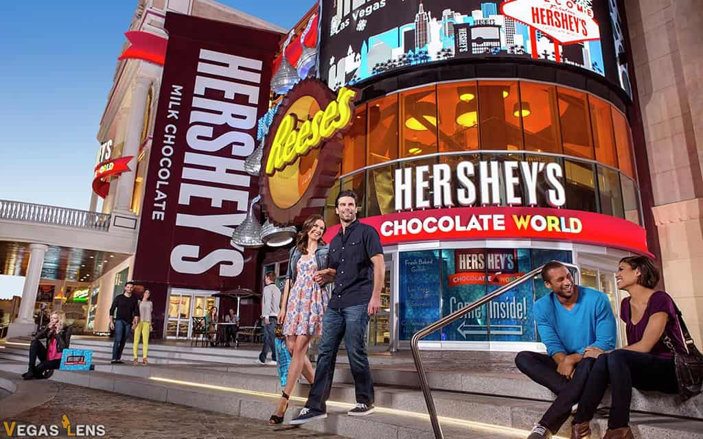 Hershey's Chocolate World - Things to do with Toddlers in Las Vegas