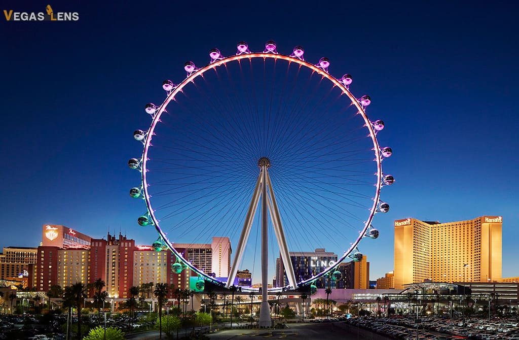 High Roller Observation Wheel - Things to do with Toddlers in Las Vegas