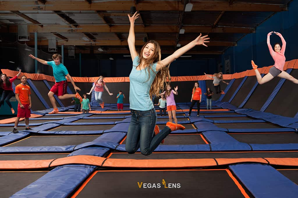 Sky Zone Trampoline Park - Jumping Places in Las Vegas