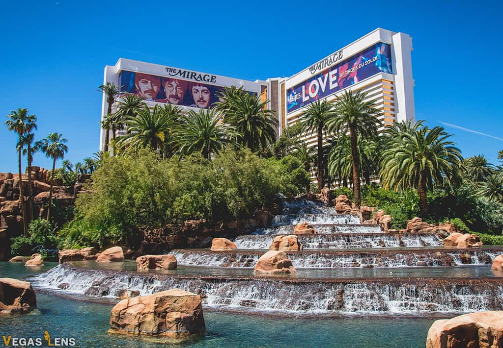 The Mirage - Best Vegas Hotels for Teens