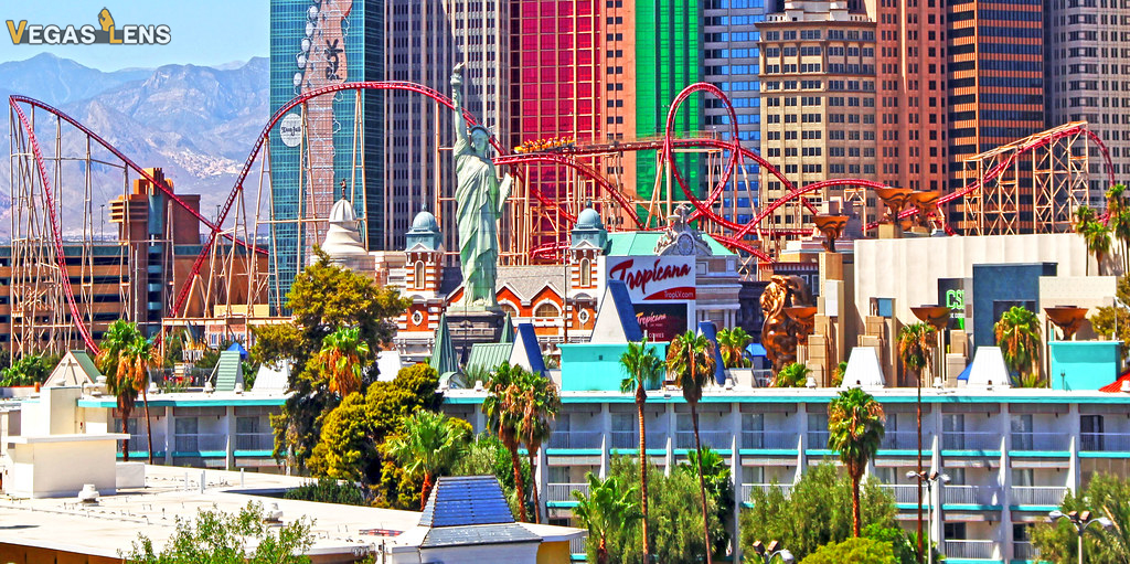 The New York Roller Coaster - Things to do in Las Vegas for Teenager