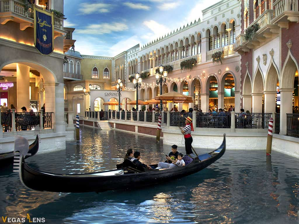 The Venetian Hotel - Best Las Vegas Hotels for Teens