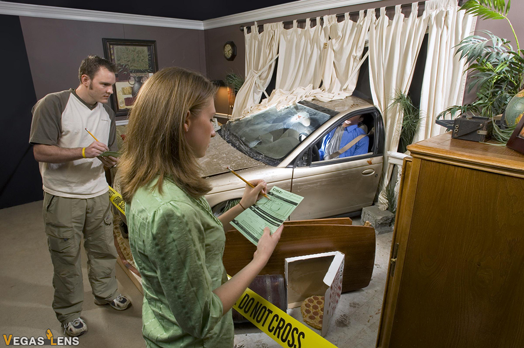 CSI Experience - Las Vegas Teenage Activities