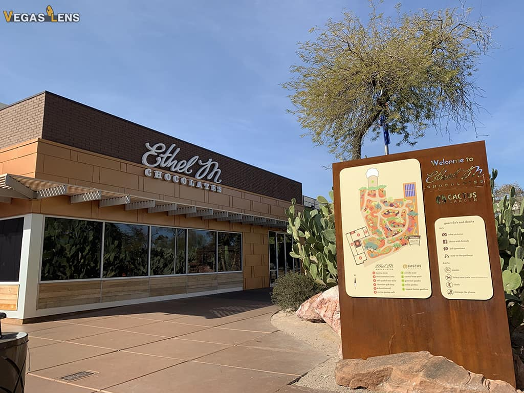 Ethel M Chocolate Factory Tour - Toddler activities in Las Vegas