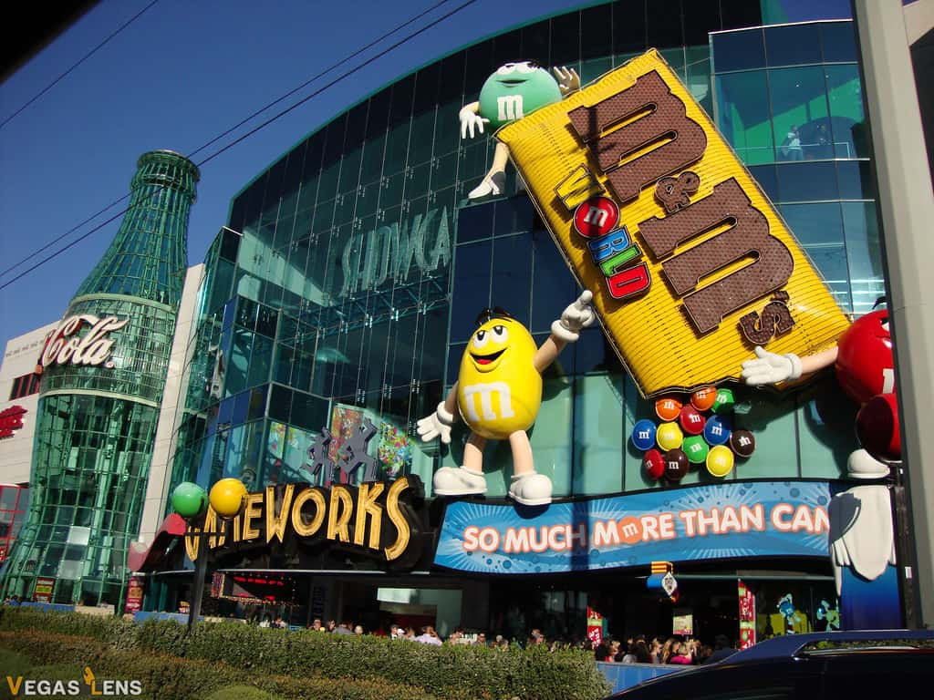 M&M's World - Things to do in Vegas with Toddlers