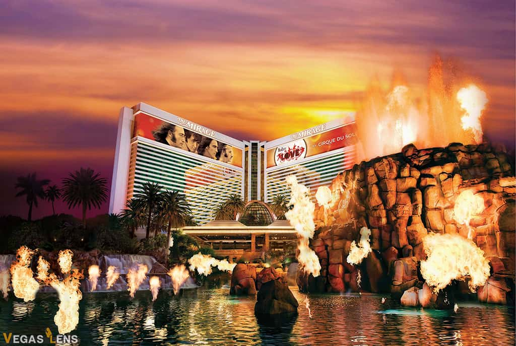 Mirage Volcano - Things to do in Vegas with Toddlers